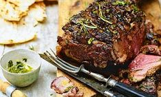 Slow-cooked: Marinade the leg of lamb for at least three hours to get the most out of your BBQ