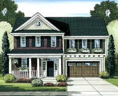 Optional Study/Sunroom - 39200ST | 2nd Floor Master Suite, CAD Available, Country, Den-Office-Library-Study, Narrow Lot, PDF, Southern, Traditional | Architectural Designs
