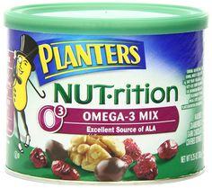 Planters Nutrition Omega-3 Mix, 9.25 oz. Canister (Count of 2) -- Be sure to check out this awesome product.