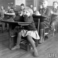 Back to school time already?  8-(  #Vintage Photos #School
