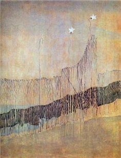 Mikalojus Ciurlionis (1875 - 1911) | Symbolism | My road (II) - 1907
