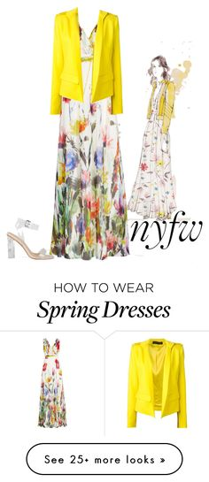 """nyfw 2016"" by devona-hazel on Polyvore featuring Badgley Mischka and Alexandre Vauthier"