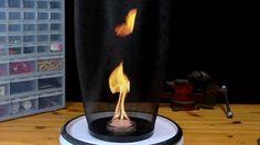 How to make a fire tornado. - Imgur