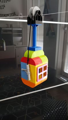 lego challenges for kids: Duplo cable lift - PinsTrends Lego Activities, Craft Activities For Kids, Toddler Activities, Lego For Kids, Diy For Kids, Crafts For Kids, Diy And Crafts, Lego Wedo, Lego Design