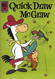 Cover for Quick Draw McGraw (Dell, 1960 series) #10