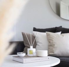 An uplifting blend of oils to liven your spirits. Place this diffuser anywhere from your kitchen to your bathroom and feel the cleansing nature of this aroma. Home Comforts, Lemon Grass, One Color, Floating Nightstand, Diffuser, Home Goods, Fragrance, Memories, Popular