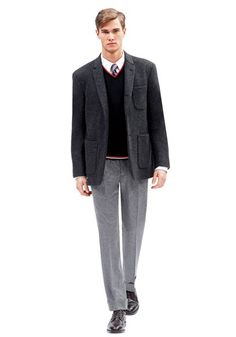Varsity Style: Black Fleece by Brooks Brothers #Fanfair