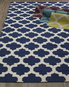 """Master Bedroom """"Panthea"""" Rug at Horchow."""