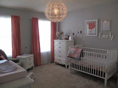 Project Nursery - Gray and Coral