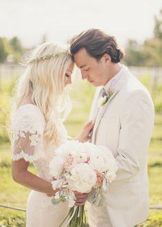 Bohemian Utah Wedding from Alixann Loosle   RuffledRuffled