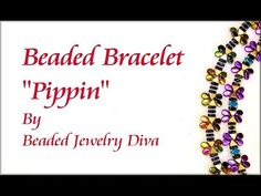 "Beaded Bracelet ""Pippin"" - Beaded Jewelry Tutorial - YouTube"