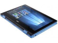 "Notebook 2 em 1 Acer Aspire R11 Intel Quad Core - 4GB 500GB LED 11,6"" Touch…"