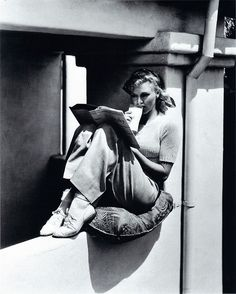 """"""" Ginger Rogers reading Romola Nijinsky's Life of Nijinsky, assisted by Lincoln Kirstein Ginger Rogers was an American actress, dancer, and singer. Rogers more often. Ginger Rogers, Hollywood Stars, Classic Hollywood, Old Hollywood, Hollywood Pictures, Hollywood Boulevard, Hollywood Glamour, Hollywood Actresses, Jean Harlow"""