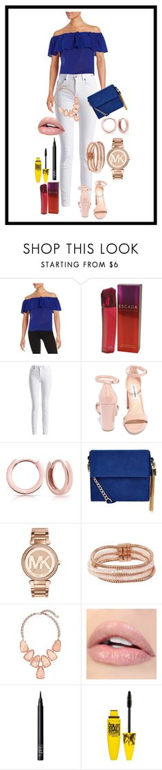 """Gisele"" by claudia-regina-vieira-correa on Polyvore featuring moda, French Connection, ESCADA, Barbour International, Steve Madden, Bling Jewelry, New Look, Michael Kors, Betsey Johnson e Kendra Scott"