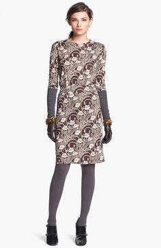 Tory Burch 'Dagny' Silk Blouson Dress available at #Nordstrom