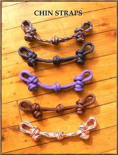 rope chin straps