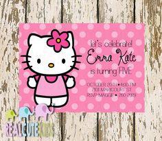 Hello Kitty Birthday Invitations Printable Free – Invitation ...