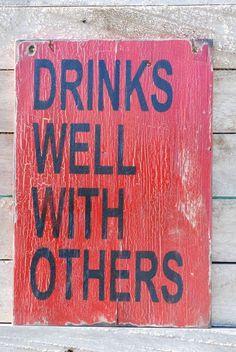 Drinks on me.....