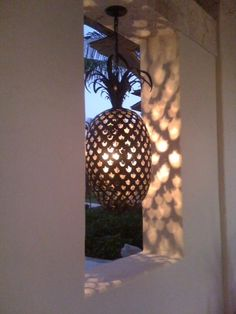 Buy Pineapple Sconce by Kemble Interiors Inc. Made-to-Order designer Lighting Buy Pineapple Sconce b Pineapple Lights, Pineapple Lamp, Pineapple Kitchen, Pineapple Ideas, Barbacoa, European Style Homes, Florida Home, Wall Sconces, Home Goods