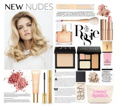 """""""Senza titolo #4253"""" by lisadcruciani ❤ liked on Polyvore featuring NARS Cosmetics, Givenchy, Yves Saint Laurent, Nicki Minaj, Clarins, Whiteley, Bobbi Brown Cosmetics, Charlotte Tilbury, Dogeared and Styli-Style"""