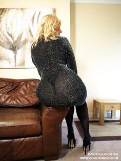 big ass milf in sheer dress thong and stockings http://www.englishmilf.co.uk English MILF Daniella