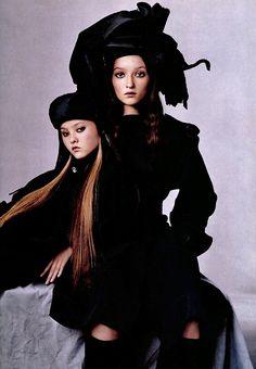 Yohji Yamamoto for Vogue US, July 1999
