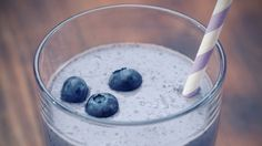 This blueberry shake from Dr. Alejandro Junger is the perfect detox meal!