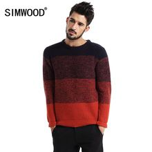 Christmas Sweater Simwood 2016 New Arrival Winter Pullovers O-neck Fashion Men Sweater Knitted Pull Homme Plus Size MY283(China (Mainland))