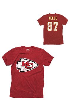 Show support for your favorite player in this travis kelce kansas city