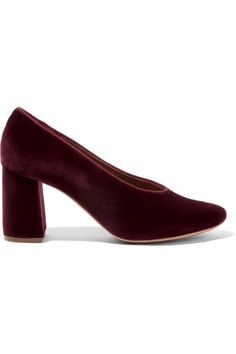 Velvet trend: the coolest shoes for Fall Winter 2016-2017