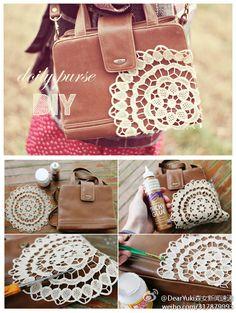 lace vintage handbag DIY - zzkko.com