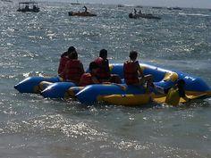 water sport - flying fish @ nusa dua, bali