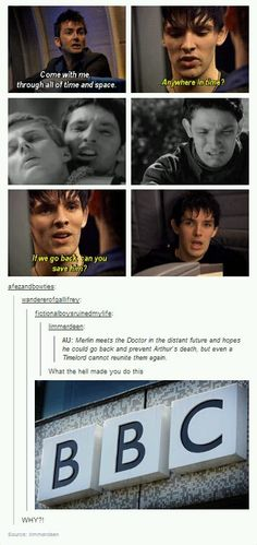 Merlin/Doctor Who AU canon - ACCEPTED! * actually holding back tears!*