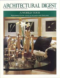 Architectural Digest January 1993