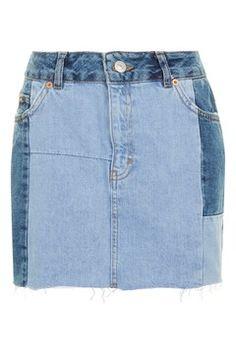 MOTO Colour Block Skirt
