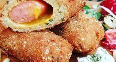 Csicseriborsó bundás hot-dog | APRÓSÉF.HU - receptek képekkel