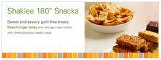 Shaklee180 Snacks - Make my snacks 120 calories, yummy & convenient!