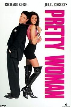 "Julia Roberts' head was superimposed on the body of famous body double Shelley Michelle for the poster. | 19 Things You Probably Didn't Know About ""Pretty Woman"""