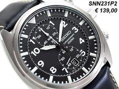 Seiko Chronograaf SNN231P2 - SNN231P1 - SNN235P1 - SNN237P1