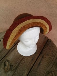 Vintage 1930s Hat Wool Pirate Calot 30s Fedora 2016215 - pinned by pin4etsy.com