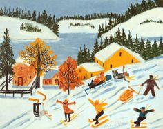 Maud Lewis, Skiers