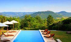 Motovun, Istrien, Kroatien: Hübsches, familienfreundliches Ferienhaus mit Garten, Pool und herrlichem Panoramablick auf Motovun und die umliegenden Hügel.