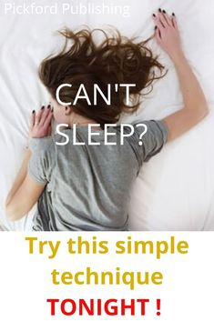 Stressed people don't sleep well. If you've ever been seriously stressed, then you'll know that this can make it very difficult to . Natural Remedies For Insomnia, Natural Stress Relief, Falling Asleep Tips, How To Fall Asleep, Sleep Well, How To Get Sleep, Cant Sleep Remedies, Quick Morning Workout, Lack Of Self Confidence