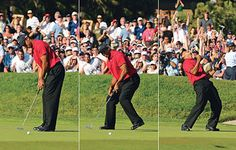 Most beautiful moment in sport. Tiger Woods in the 2008 US Open championship to force a playoff with Rocco Mediate. He was injured All weekend and had to make this 18 foot birdie put to force a playoff. He went on to win the US open. He over came everything to win the championship.
