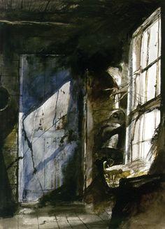 Blue Door - Andrew Wyeth