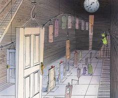 67 Pieces Of Stunning Pixar Concept Art Monsters Inc.