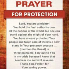 Prayer for protection.insert our nation to pray for the country, or any other individual. Never doubt the power of prayer! Prayer Scriptures, Bible Prayers, Faith Prayer, God Prayer, Power Of Prayer, Prayer Quotes, Bible Quotes, Sinners Prayer, Deliverance Prayers