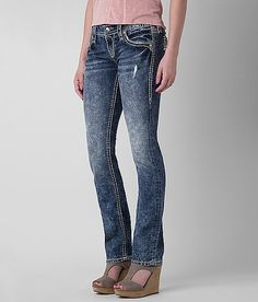 Rock Revival Klandi Straight Stretch Jean
