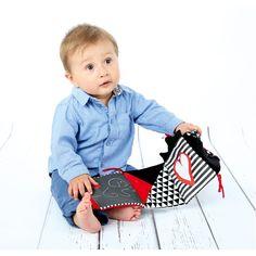 Książeczka kontrastowa duża do stymulowania wzroku dziecka #moje #bambino #visual #stimulation #infants #baby #view  http://www.mojebambino.pl/percepcja-wzrokowa/10889-ksiazeczka-kontrastowa-duza.html