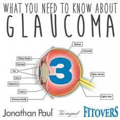 What you need to know about Glaucoma – Part 3 | Jonathan Paul – Fitover Blog – Manufacturer of the original Fitovers™ and Jonathan Paul® fit over sunglasses